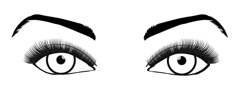 RISE Lash Look - Open Eye Lash Extensions